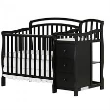 Crib And Bed Combo Casco 3 In 1 Mini Crib And Dressing Table Combo On Me