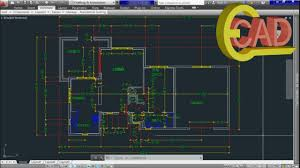 Autocad Floor Plan Tutorial Learning Autocad 2013 Tutorial 10 Creating And Using Blocks