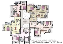 flats designs and floor plans floor plan flatss and plans two storey home flats designs kevrandoz