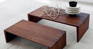 Contemporary Coffee Table Contemporary Coffee Table Wooden Rectangular By Marc Sadler