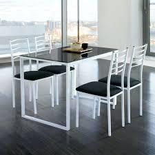 cdiscount table de cuisine tables de cuisine but table cuisine avec chaise verre noir achat