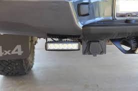 led bumper backup lights dually flush mount rear bumper tacoma world
