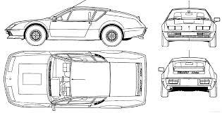 renault alpine a310 the blueprints com blueprints u003e cars u003e renault u003e renault alpine