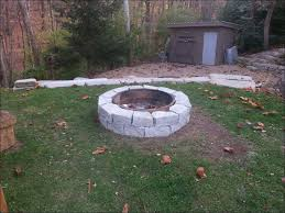 Wood Burning Kits At Lowes by Exteriors Amazing Stone Fire Pit Kit Lowes Building A Natural