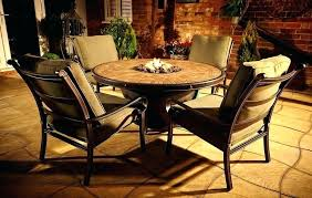 large fire pit table large fire pit table large fire pit table and chairs mindmirror info