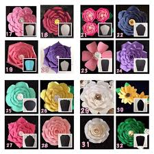 best 25 flower template ideas on pinterest paper flower