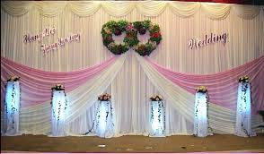 wedding backdrop on stage aliexpress buy 20ft 10ft white pink wedding backdrop curtain