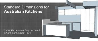 what is the standard height of a kitchen wall cabinet standard dimensions for australian kitchens illustrated