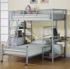 advantage of full size metal loft bed with desk modern loft beds