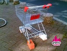 Shopping Cart Meme - rough neighborhood ghetto red hot