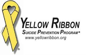 logo ribbon yellow ribbon prevention program home
