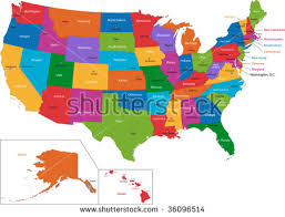 us map fillable united states map vector free vector stock