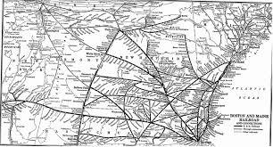 Union Pacific Railroad Map Boston U0026 Maine Railroad Map History Pinterest
