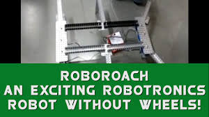 roboroach an exciting robotronics robot without wheels youtube