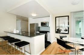 no fee great 1 bd w open kitchen large living dining room and