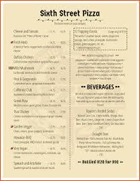 14 catering menu template survey template words