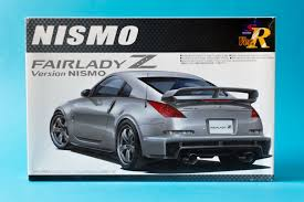 Aoshima 1 24 Nissan Nismo Fairlady Z 350z Model Kit Unboxing And
