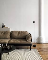 Dark Floor Treasure Via Cocolapinedesign Com Inspirational Menu Septembre Sofa By Theresa Arns And Our Peek Floor Lamp By