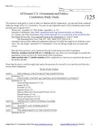 us constitution study guide united states constitution article