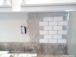 how to do tile backsplash in kitchen best installing subway tile backsplash in kitchen ceramic tile