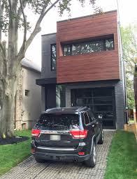 gentek my design home studio longboard siding installed with dark brick installed by terra