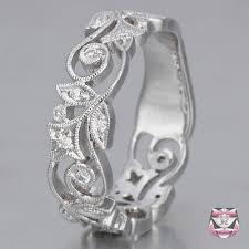 art nouveau jewelry art nouveau rings diamond wedding band