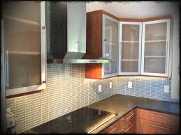 Frosted Glass Kitchen Cabinet Doors This Kitchen Is Aluminium Frame Cabinet Doors With Frosted Glass
