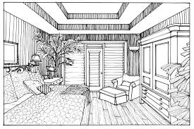 using a photograph of an interior space is great tool to for