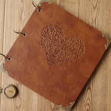 personalized scrapbooks popular leather scrapbooks buy cheap leather scrapbooks lots from
