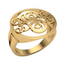 Mens Monogram Rings Name Necklaces Personalized Name Jewellery Custom Made