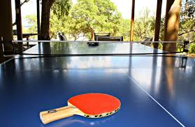 Ping Pong Table Rental Skyrun Vacation Rentals Texas Hill Country Wimberley Tx
