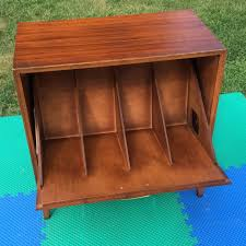mid century storage cabinet vintage lane 150 12 record storage cabinet turntable stand