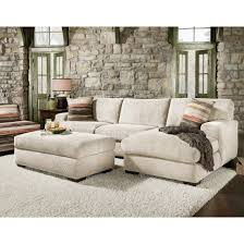 sectional sofa dual fabric sectional flexsteel sectional with