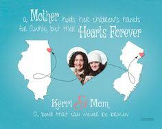 Mother Daughter Keepsakes Gift For Mom Birthday Idea For Mother Moving Away Present Long