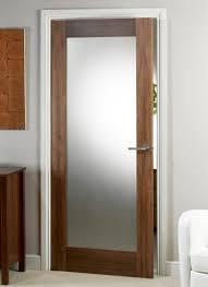 Walnut Interior Door Walnut Pre Glazed Interior Door