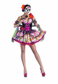 day of the dead costumes party king day of the dead women s costume set with