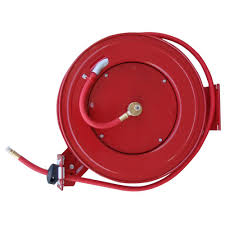 best wall mounted hose reel black bull 50 ft retractable air hose reel with auto rewind