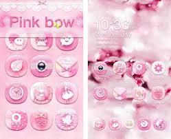hello go launcher ex theme apk pink bow go launcher theme apk version v1 0