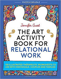 amazon com the art activity book for relational work 100