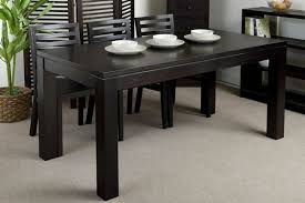 black and wood dining table black kitchen table and chairs nautica indoor table and chair set