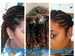 Chunky Flat Twist Hairstyles by Easy U0026 Lasting Protective Style How To For Natural Hair Twists