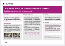 research poster u2013 services u0026 resources eth zurich