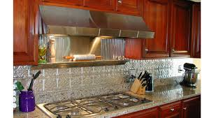 faux kitchen backsplash kitchen backsplash ideas decorative tin tiles metal backsplash