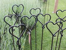 uncategorized decorative garden stakes with lovely metal