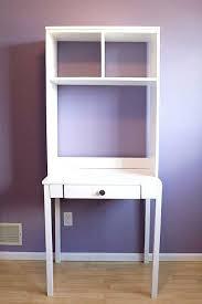 Compact Computer Desk With Hutch Small Desk With Shelves Desk White Computer Desk With Bookshelf