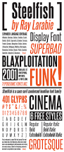 larabie fonts