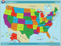 map of the united states picture a labeled map of the united states made by creative label
