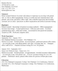 Physician Assistant Resume Templates Professional Assistant Templates To Showcase Your Talent