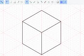 playing with isometric projection in inkscape to make a minecraft