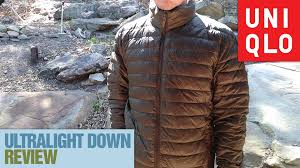 uniqlo ultra light down vest uniqlo ultralight down jacket review packing lite